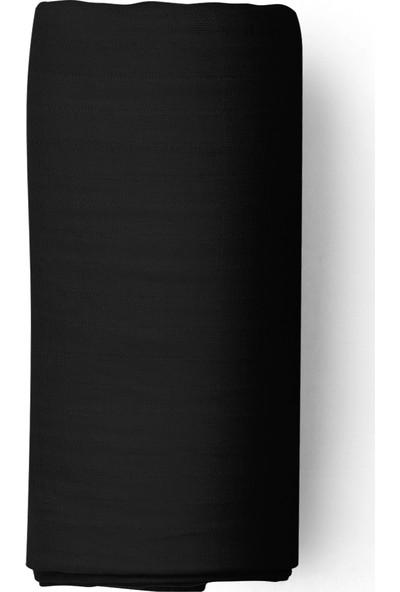 Maki Siyah 90X190 Tek Kişilik Lastikli Çarşaf Takımı