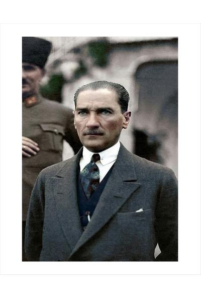 Mapofx Kanvas Atatürk Tablosu
