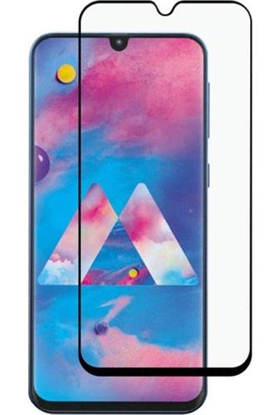 Zengin Çarşım Samsung Galaxy M30 Kavisli Tam Kaplayan 9D Ekran Koruyucu Film