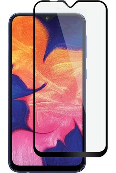Zengin Çarşım Samsung Galaxy A10 Kavisli Tam Kaplayan 9D Ekran Koruyucu Film