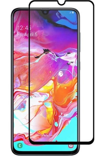 Zengin Çarşım Samsung Galaxy A70 Kavisli Tam Kaplayan 9D Ekran Koruyucu Film