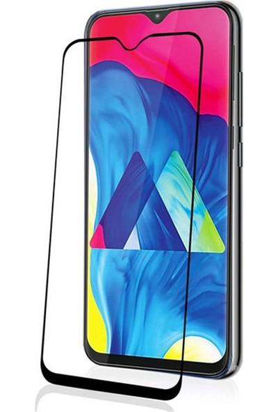 Zengin Çarşım Samsung Galaxy M10 Kavisli Tam Kaplayan 9D Ekran Koruyucu Film