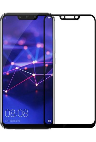 Zengin Çarşım Huawei Mate 20 Lite Kavisli Tam Kaplayan 9D Ekran Koruyucu Film