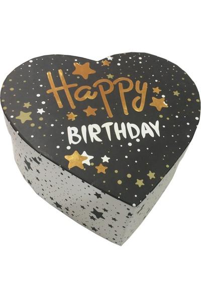 Gıpta Wish Happy Birthday Kalp Hediye Kutusu