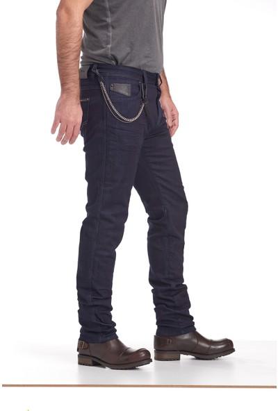 Nyks NY01 Lacivert Motorsiklet Pantolonu