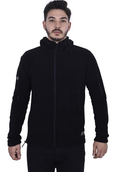 Ghassy Co. Tactical Erkek Polar Kapşonlu Ceket