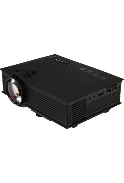 Morvizyon Taşınabilir LED Projeksiyon Cihazı 2000 Lümen