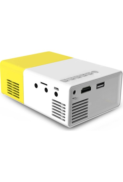 Morvizyon Taşınabilir Mini LED Projeksiyon Cihazı