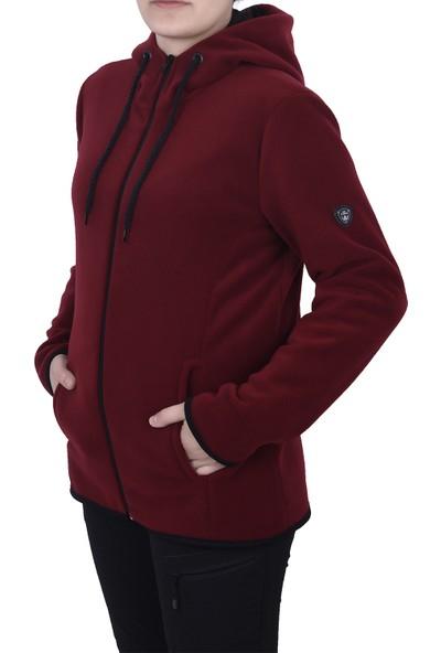 Ghassy Co. Polar Kadın Kapşonlu Sweatshirt