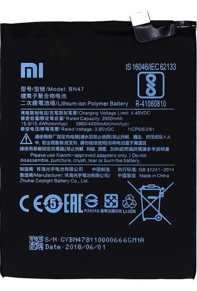 Yedekyedek Xiaomi Mi A2 Lite BN47 Batarya Pil A++ Lityum Polimer Pil
