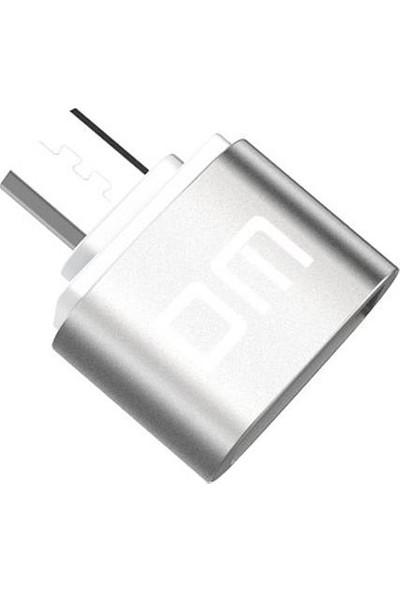 DM Micro USB OTG Çevirici Adaptör