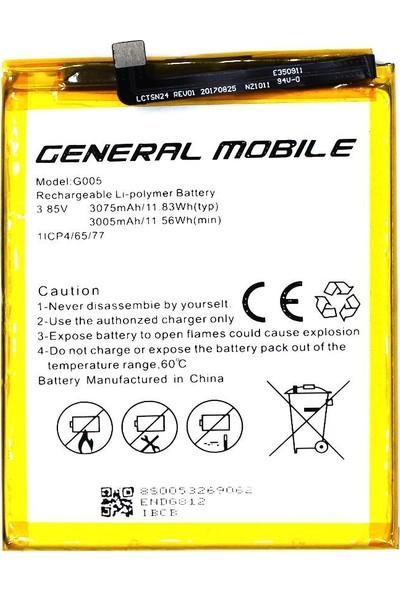 Yedekyedek General Mobile GM 8 Batarya Pil