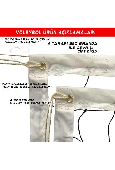 AVF128 Okul Tipi Voleybol Filesi Prof 2mm 10X10
