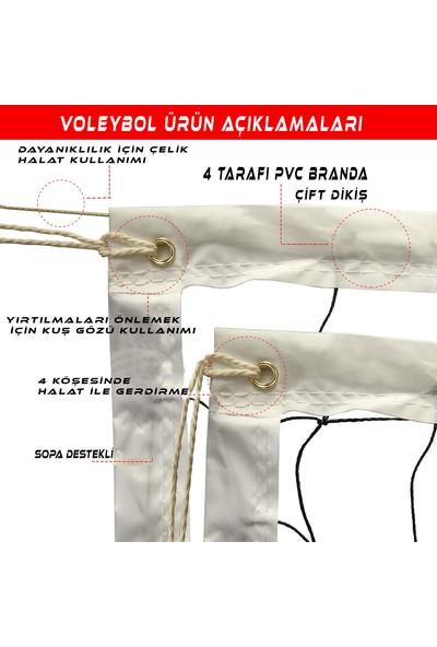 AVF129 Okul Tipi Prof Voleybol Filesi 3mm 10X10