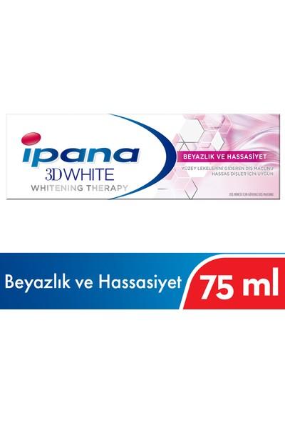 Ipana 3 Boyutlu Beyazlık Therapy 75 ml Hassas Beyazlık Diş Macunu