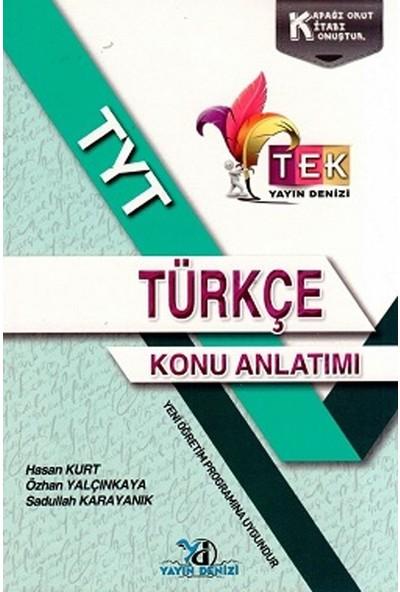 Yayın Denizi Tyt Tek Serisi Türkçe Konu Anlatımı Cep Kitabı - Hasan Kurt