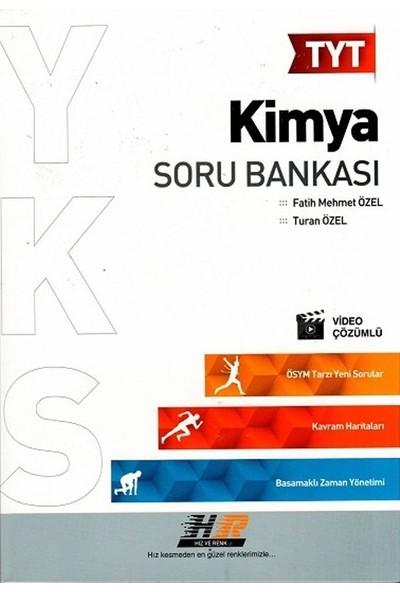 Hız Ve Renk Yayınları Tyt Kimya Soru Bankası - Turan Özel