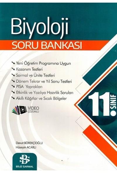 Bilgi Sarmal Yayınları 11. Sınıf Biyoloji Soru Bankası - Davut Börekçioğlu