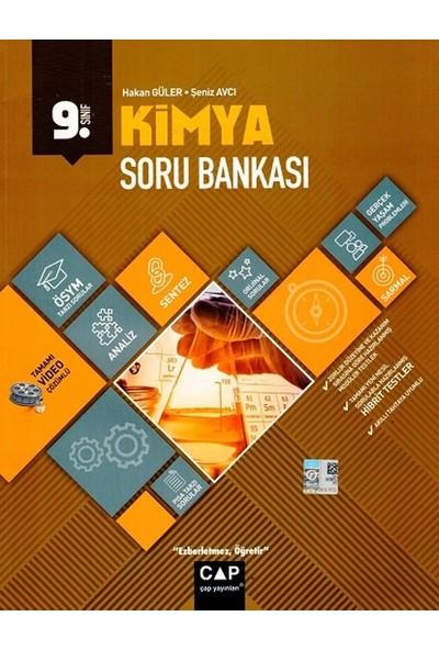 Çap Yayınları 9. Sınıf Anadolu Lisesi Kimya Soru Bankası - Hakan Güler