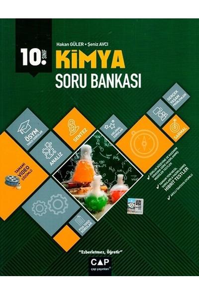 Çap Yayınları 10. Sınıf Anadolu Lisesi Kimya Soru Bankası - Hakan Güler