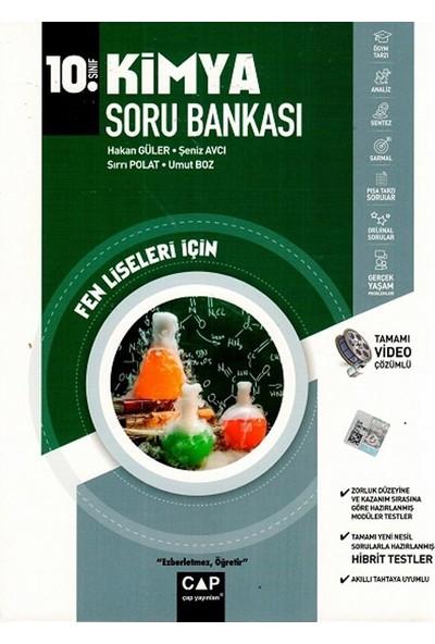 Çap Yayınları 10. Sınıf Fen Lisesi Kimya Soru Bankası - Hakan Güler