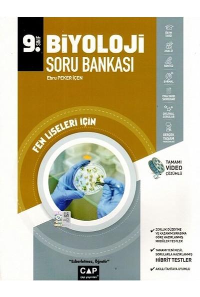 Çap Yayınları 9. Sınıf Fen Lisesi Biyoloji Soru Bankası - Ebru Peker İçen