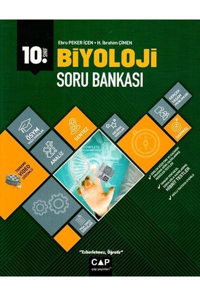 Çap Yayınları 10. Sınıf Anadolu Lisesi Biyoloji Soru Bankası - H. İbrahim Çimen