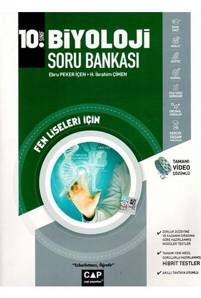 Çap Yayınları 10. Sınıf Fen Lisesi Biyoloji Soru Bankası - H. İbrahim Çimen