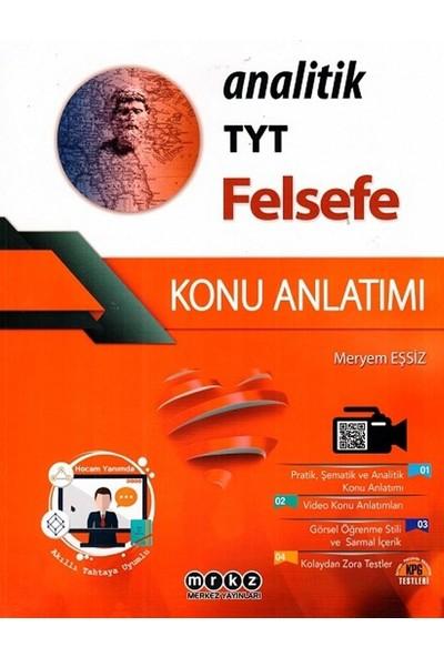 Merkez Yayınları Tyt Felsefe Analitik Konu Anlatımı - Meryem Eşsiz