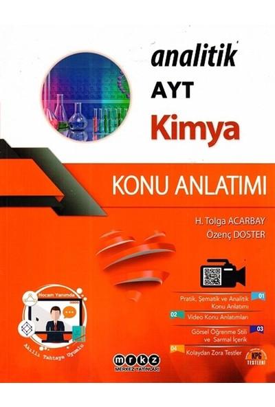 Merkez Yayınları Ayt Kimya Analitik Konu Anlatımı - Özenç Doster