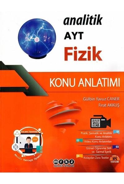 Merkez Yayınları Ayt Fizik Analitik Konu Anlatımı - Fırat Akkuş