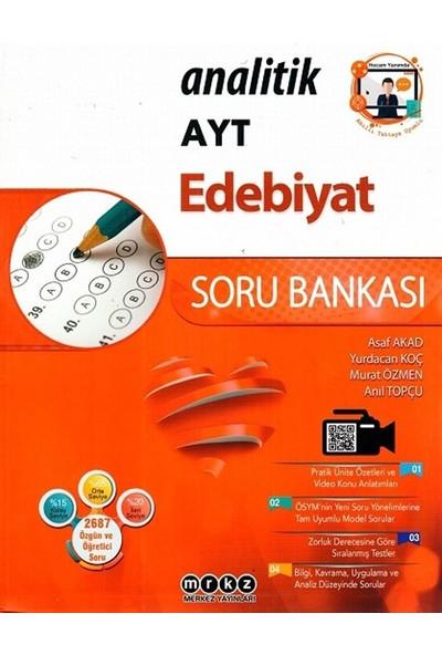 Merkez Yayınları Ayt Edebiyat Analitik Soru Bankası - Asaf Akad