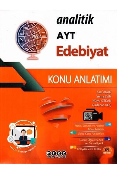 Merkez Yayınları Ayt Edebiyat Analitik Konu Anlatımlı - Asaf Akad