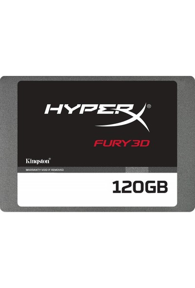 Kingston HyprX Fury 120GB 500-500MB/s Sata 3.0 3D SSD KC-S44120-6F