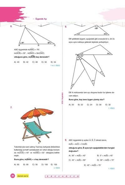 Ens Yayıncılık Tyt Ayt Geometri Destek Soru Bankası - Ebru Saydam