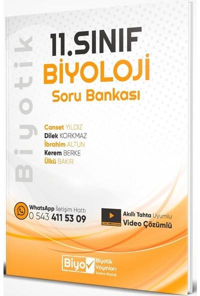 Biyotik Yayınları 11. Sınıf Biyoloji Biyotik Soru Bankası - Canset Yıldız