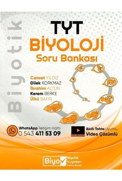 Biyotik Yayınları Tyt Biyoloji Biyotik Soru Bankası - Canset Yıldız