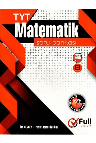 Full Matematik Yayınları Tyt Matematik Soru Bankası - İsa Sevgen