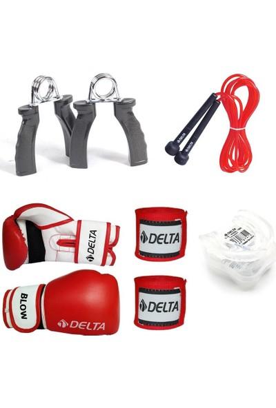 Delta Egis Boks Seti Boks Eldiveni - El Bandajı - Atlama İpi - Dişlik - El Yayı