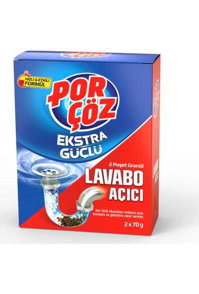 Por Çöz Ekstra Güçlü Lavobo Açıcı 2x70 Gr