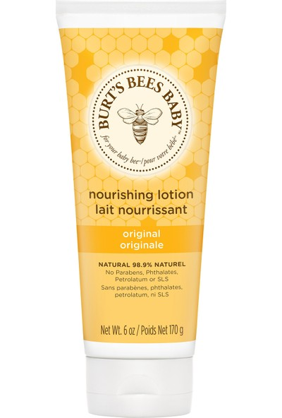 Burts Bees Baby Bee Nourishing Lotion Original/Besleyici Bebek Losyonu - Orjinal Formül