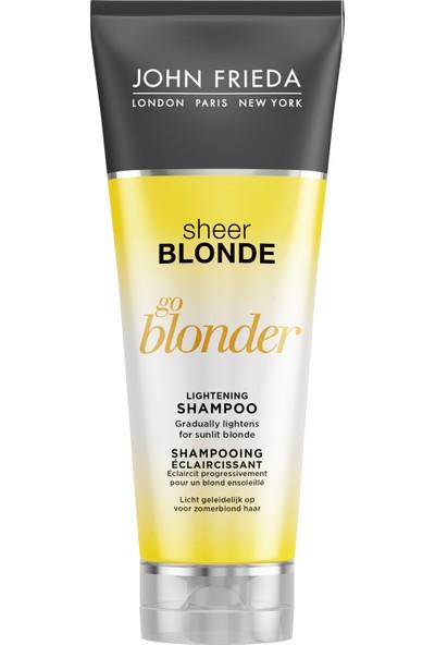 John Frıeda Sarı Saçlara Özel Işıltı Veren Şampuan 250 Ml