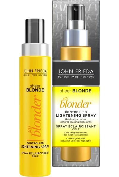 John Frieda Sarı Saç Renk Açıcı Sprey 100 ml