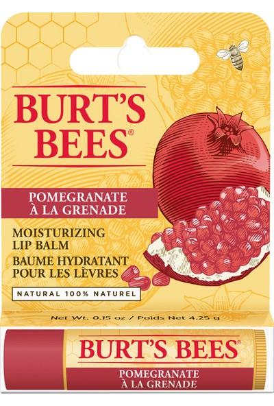 Burt's Bees Doğal Nar Özlü Dudak Koruyucu