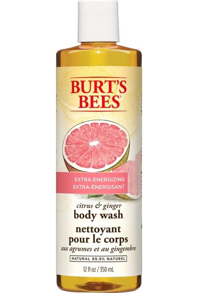 Burt's Bees Citrus and Ginger Body Wash 350ml - Enerji Veren Turunç ve Zencefil Özlü Duş Jeli