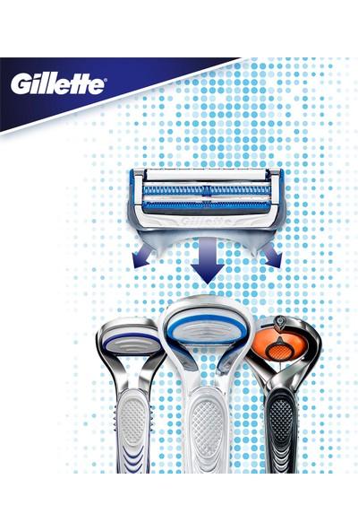 Gillette Skinguard Tıraş Makinesi + 4'lü Yedek Tıraş Bıçağı