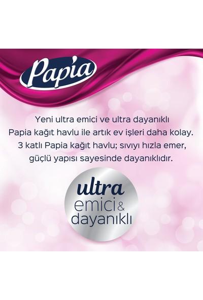 Papia Kağıt Havlu Jumbo Paket 48 Rulo