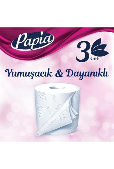 Papia Tuvalet Kağıdı Jumbo Paket 48 Rulo