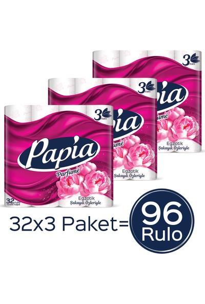Papia Parfümlü Tuvalet Kağıdı Jumbo Paket 96 Rulo