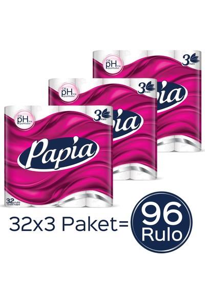 Papia Tuvalet Kağıdı Jumbo Paket 96 Rulo